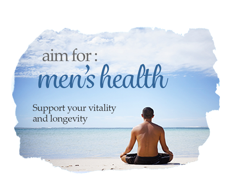 aim for men's health