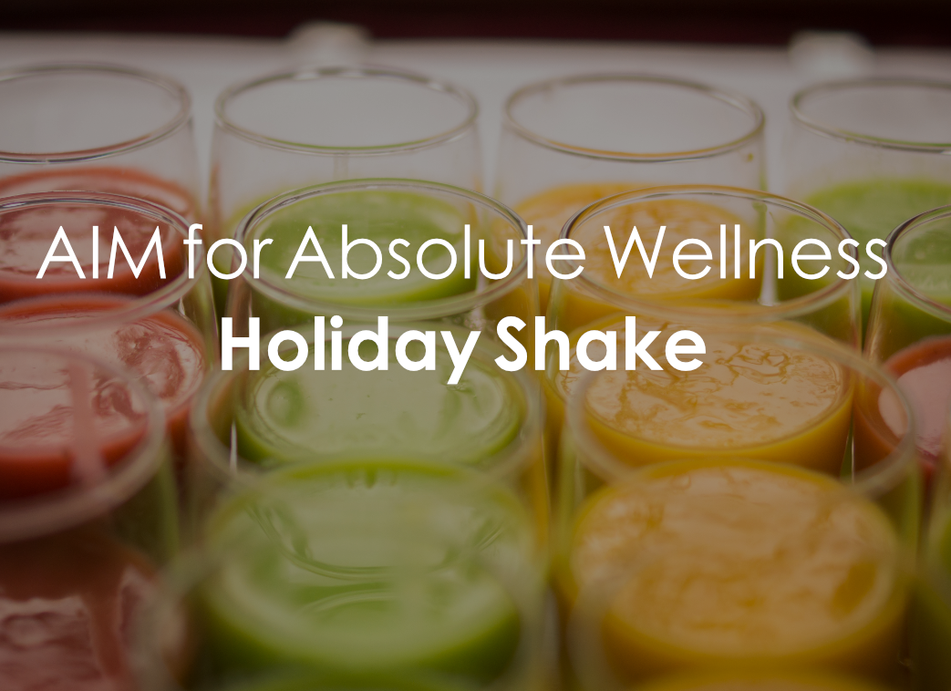 Holiday Shake Recipe